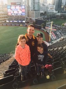 Ryan Braithwaite attended San Diego Padres vs. Colorado Rockies - MLB on Apr 3rd 2018 via VetTix