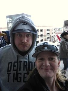 coleen brillhart attended Detroit Tigers vs. Pittsburgh Pirates - MLB - Opening Day on Mar 29th 2018 via VetTix
