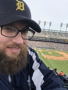 Charles attended Detroit Tigers vs. Pittsburgh Pirates - MLB - Opening Day on Mar 29th 2018 via VetTix