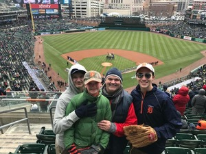 Andy attended Detroit Tigers vs. Pittsburgh Pirates - MLB - Opening Day on Mar 29th 2018 via VetTix
