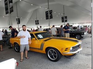 Seth attended Barrett Jackson - the World's Greatest Collector Car Auction in Palm Beach, Fl - Tickets Are 2 for 1, So 1 Tickets Will Get 2 People in on Apr 14th 2018 via VetTix