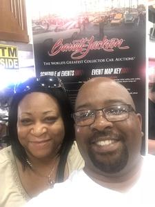 Steven attended Barrett Jackson - the World's Greatest Collector Car Auction in Palm Beach, Fl - Tickets Are 2 for 1, So 1 Tickets Will Get 2 People in on Apr 14th 2018 via VetTix
