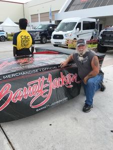 Daniel attended Barrett Jackson - the World's Greatest Collector Car Auction in Palm Beach, Fl - Tickets Are 2 for 1, So 1 Tickets Will Get 2 People in on Apr 14th 2018 via VetTix