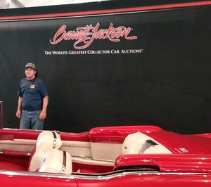 Mark attended Barrett Jackson - the World's Greatest Collector Car Auction in Palm Beach, Fl - Tickets Are 2 for 1, So 1 Tickets Will Get 2 People in on Apr 14th 2018 via VetTix