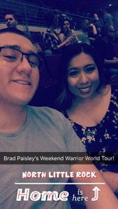 Jovanna attended Brad Paisley - Weekend Warrior World Tour With Dustin Lynch, Chase Bryant and Lindsay Ell on Apr 12th 2018 via VetTix