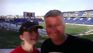 Jason attended DC United vs. Columbus Crew SC - MLS on Apr 14th 2018 via VetTix