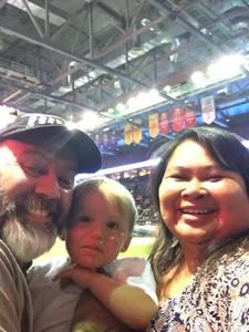 Sergio attended Denver Dream vs. Omaha Heart - Legends Football League - Women of the Gridiron on Apr 27th 2018 via VetTix