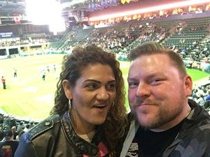 Charles attended Denver Dream vs. Omaha Heart - Legends Football League - Women of the Gridiron on Apr 27th 2018 via VetTix
