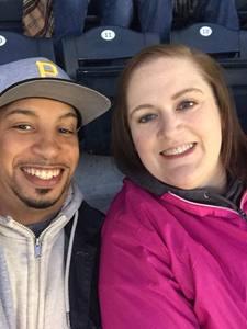 Michelle attended Pittsburgh Pirates vs. Cincinnati Reds - MLB on Apr 6th 2018 via VetTix