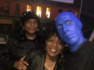 Sandra attended Blue Man Group on Apr 15th 2018 via VetTix