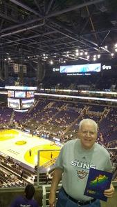 Ernest attended Phoenix Suns vs. Sacramento Kings - NBA on Apr 3rd 2018 via VetTix
