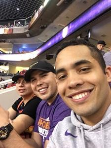 Raymond attended Phoenix Suns vs. Sacramento Kings - NBA on Apr 3rd 2018 via VetTix