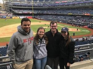 Frank attended New York Yankees vs. Baltimore Orioles - MLB on Apr 7th 2018 via VetTix