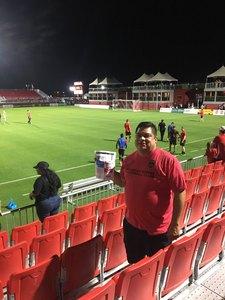 Pedro attended Phoenix Rising FC vs. Real Monarchs SLC - USL on Apr 7th 2018 via VetTix