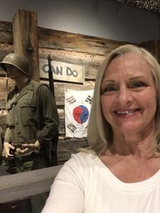 Pamela attended World War One - a Generation Lost - a Dramatic Musical Concert on Apr 20th 2018 via VetTix