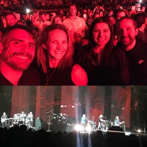 Rommell and Kristin attended Bon Jovi - This House is not for Sale Tour - Sunday Night on Apr 8th 2018 via VetTix