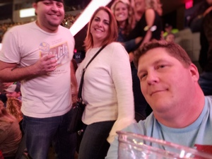 Dennis attended Brad Paisley - Weekend Warrior World Tour With Dustin Lynch, Chase Bryant and Lindsay Ell on Apr 7th 2018 via VetTix