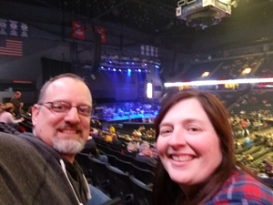 Jacob attended Brad Paisley - Weekend Warrior World Tour With Dustin Lynch, Chase Bryant and Lindsay Ell on Apr 7th 2018 via VetTix