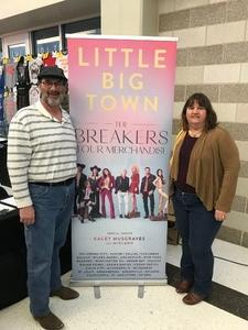 Wayne attended Little Big Town - the Breakers Tour With Kacey Musgraves and Midland on Apr 7th 2018 via VetTix