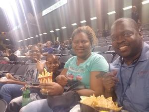 Halford Family attended Baltimore Brigade vs. Washington Valor - AFL on Apr 13th 2018 via VetTix