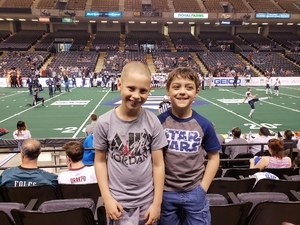 Kenneth attended Baltimore Brigade vs. Washington Valor - AFL on Apr 13th 2018 via VetTix