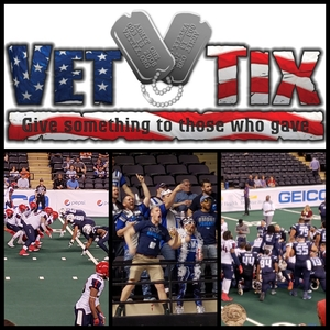 Matthew attended Baltimore Brigade vs. Washington Valor - AFL on Apr 13th 2018 via VetTix