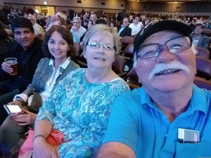 Robert attended The Righteous Brothers on Apr 14th 2018 via VetTix