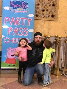 Bryan attended Peppa Pig Live - Surprise on Apr 10th 2018 via VetTix