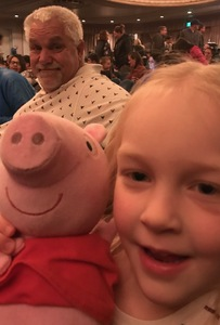 Ronald attended Peppa Pig Live - Surprise on Apr 10th 2018 via VetTix