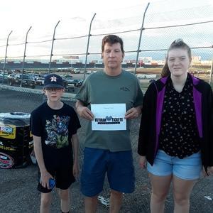Charles attended Tucson Speedway: Hot Shot 50 on Sep 1st 2018 via VetTix