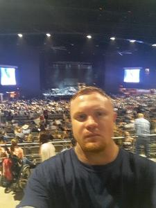 robert attended Brad Paisley Weekend Warrior World Tour Standing and Lawn Seats Only on Apr 13th 2018 via VetTix