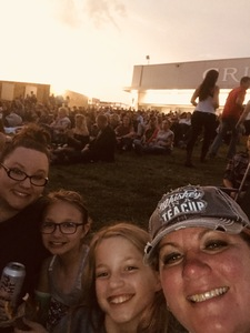 Amanda attended Brad Paisley Weekend Warrior World Tour Standing and Lawn Seats Only on Apr 13th 2018 via VetTix