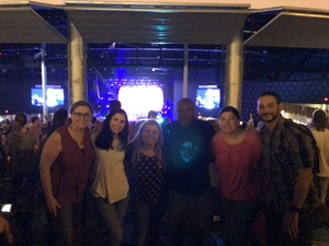 Jeanette attended Brad Paisley Weekend Warrior World Tour Standing and Lawn Seats Only on Apr 13th 2018 via VetTix