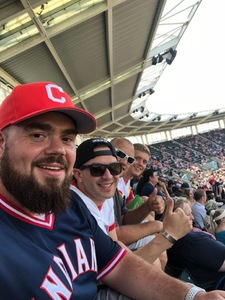 Pedro attended Cleveland Indians vs. Houston Astros - MLB on May 27th 2018 via VetTix