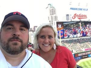 Nathan attended Cleveland Indians vs. Houston Astros - MLB on May 27th 2018 via VetTix