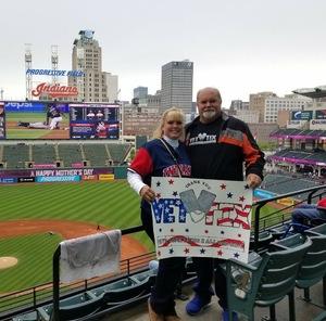 Kory attended Cleveland Indians vs. Kansas City Royals - MLB on May 13th 2018 via VetTix