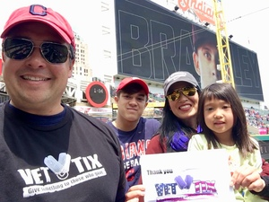 Mike attended Cleveland Indians vs. Kansas City Royals - MLB on May 13th 2018 via VetTix