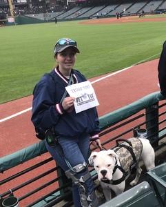 Samantha attended Cleveland Indians vs. Kansas City Royals - MLB on May 13th 2018 via VetTix