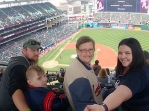 Robert attended Cleveland Indians vs. Kansas City Royals - MLB on May 13th 2018 via VetTix