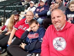 Shaun attended Cleveland Indians vs. Kansas City Royals - MLB on May 13th 2018 via VetTix
