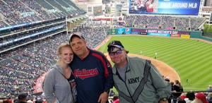 Damon attended Cleveland Indians vs. Kansas City Royals - MLB on May 13th 2018 via VetTix