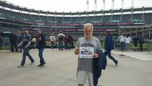 Jim Carrig attended Cleveland Indians vs. Kansas City Royals - MLB on May 13th 2018 via VetTix