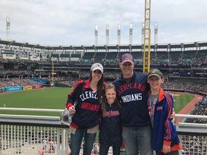 Shawn attended Cleveland Indians vs. Kansas City Royals - MLB on May 13th 2018 via VetTix