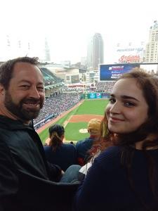 Jake attended Cleveland Indians vs. Kansas City Royals - MLB on May 13th 2018 via VetTix
