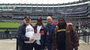 Bruce attended Cleveland Indians vs. Kansas City Royals - MLB on May 13th 2018 via VetTix
