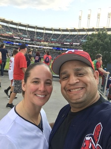 Ed attended Cleveland Indians vs. Kansas City Royals - MLB on May 13th 2018 via VetTix