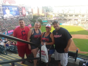 Stephen attended Cleveland Indians vs. Tampa Bay Rays - MLB on Sep 2nd 2018 via VetTix