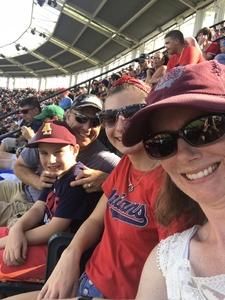 Michael attended Cleveland Indians vs. Tampa Bay Rays - MLB on Sep 2nd 2018 via VetTix