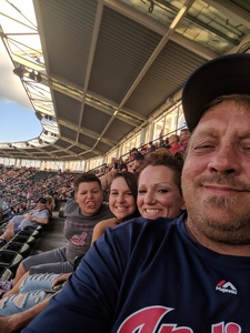 Dwayne R attended Cleveland Indians vs. Tampa Bay Rays - MLB on Sep 2nd 2018 via VetTix