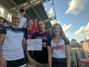 Thomas attended Cleveland Indians vs. Tampa Bay Rays - MLB on Sep 2nd 2018 via VetTix